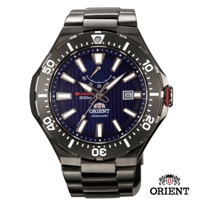 ORIENT東方錶 M-200m潛水機械錶-藍色/51mm