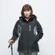 歐都納 GORE-TEX+W.S刷毛兩件式防水防風女款外套 A-G1431W 黑 product thumbnail 1