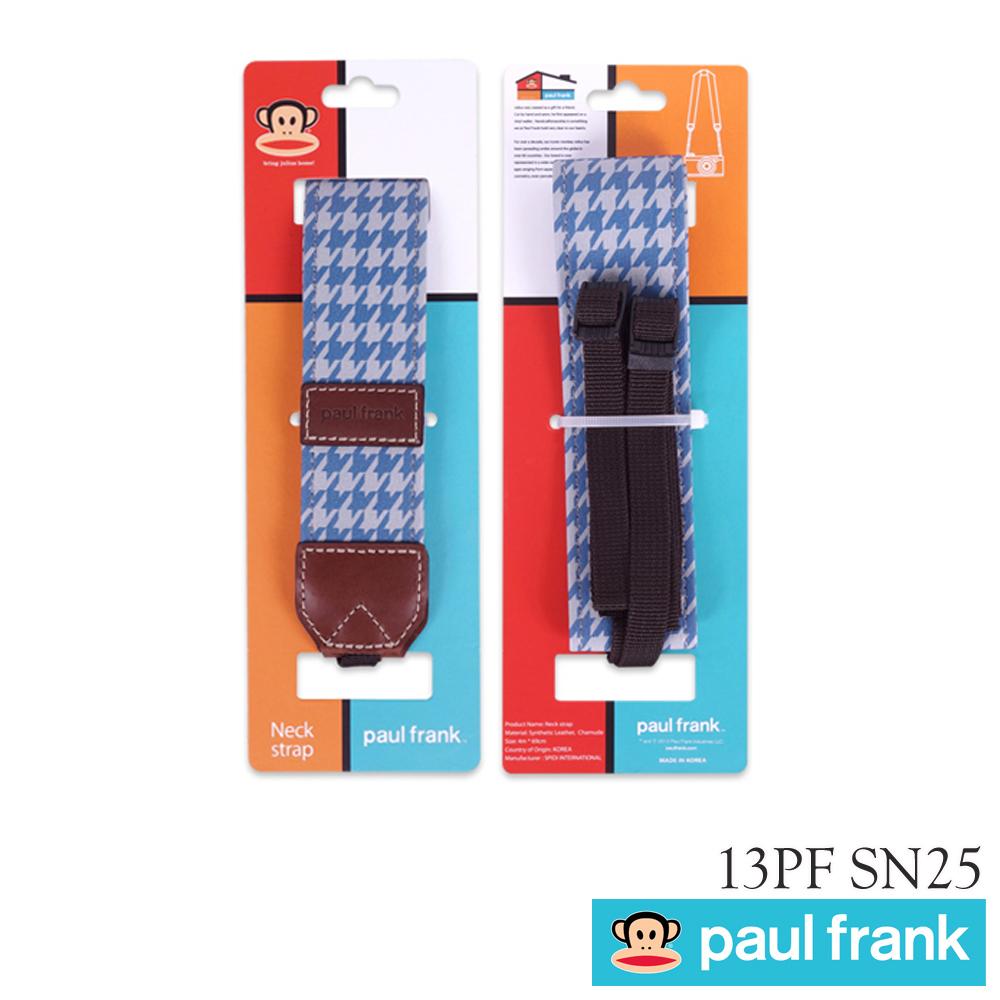 Paul Frank DSLR 專用背帶13PF-SN25 藍色拼圖
