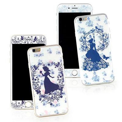 Disney iphone 6 plus / 6s plus強化玻璃彩繪保護貼-...