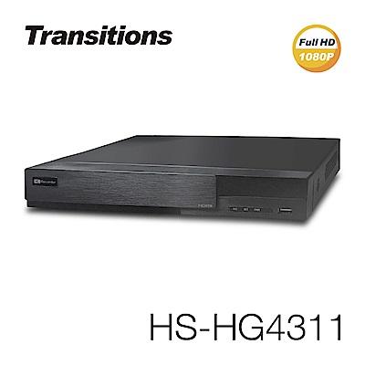 全視線 HS-HG4311 4路 HDMI 台灣製造 混合式監視監控錄影主機