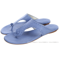 BALENCIAGA巴黎世家 Covered Giant 夾腳涼鞋(水藍色)