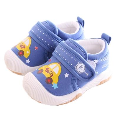 小黃車魔鬼貼外出鞋 藍 sk0191 魔法Baby
