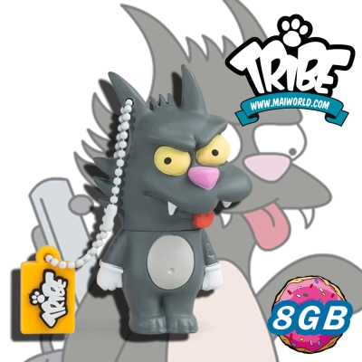 義大利TRIBE-辛普森一家 8GB 隨身碟 - 抓抓貓(SCARTCHY)