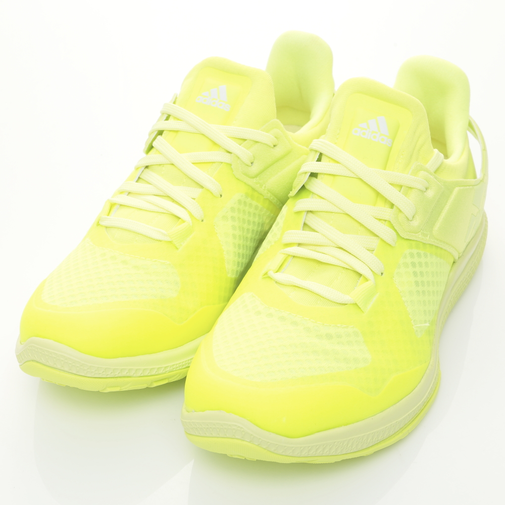 ADIDAS-ATANI BOUNCE女慢跑鞋-黃