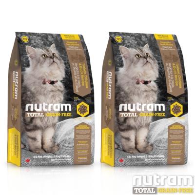 Nutram紐頓 T22無穀貓 火雞配方 貓糧 1公斤  X 2包
