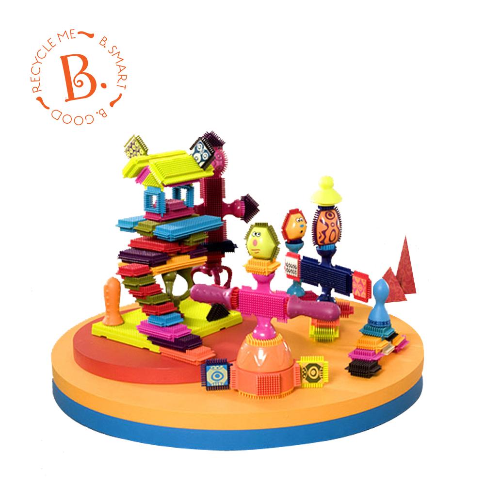 美國【B.Toys】 布萊斯特鬃毛積木