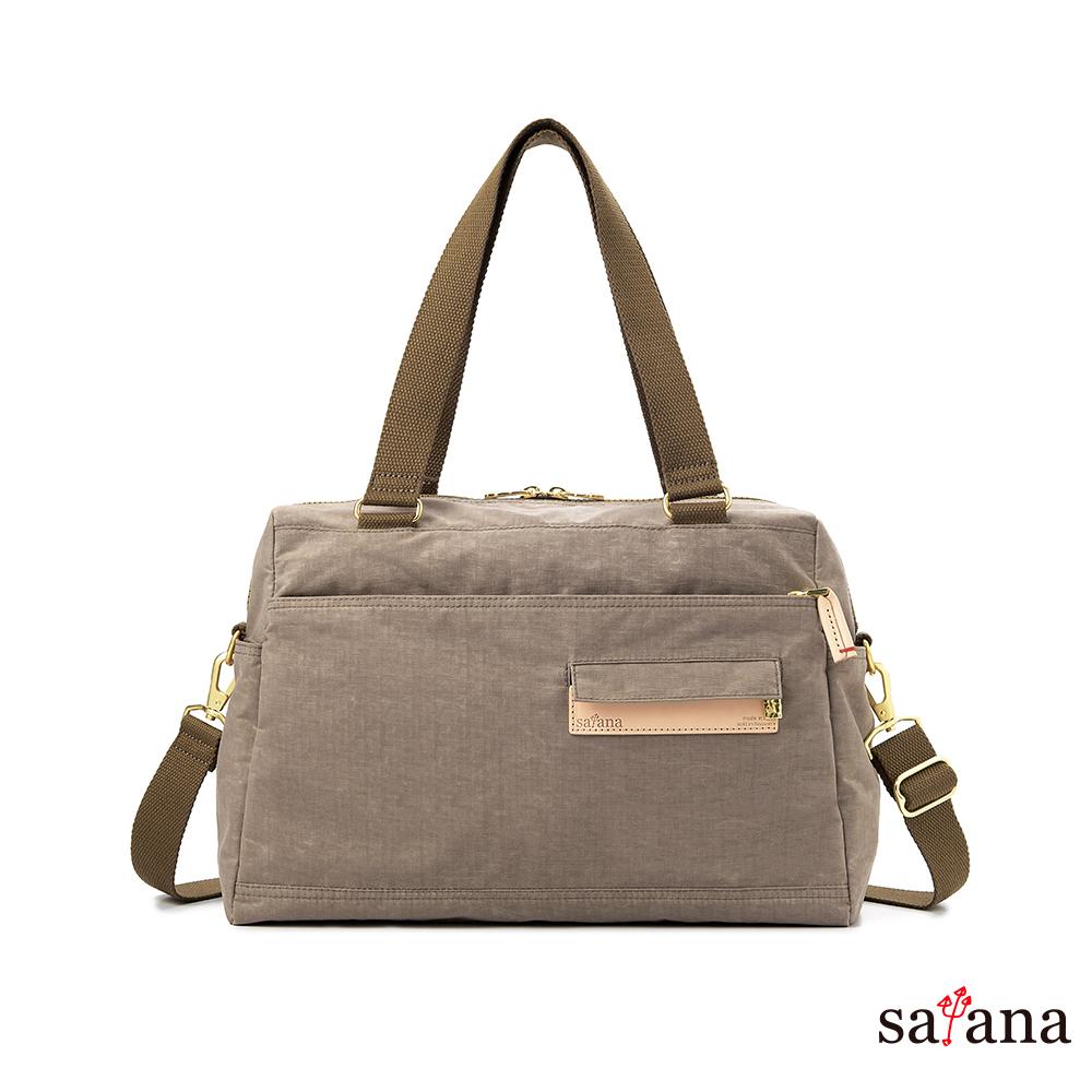 satana - 多用途斜背包/肩背包 - 松樹皮