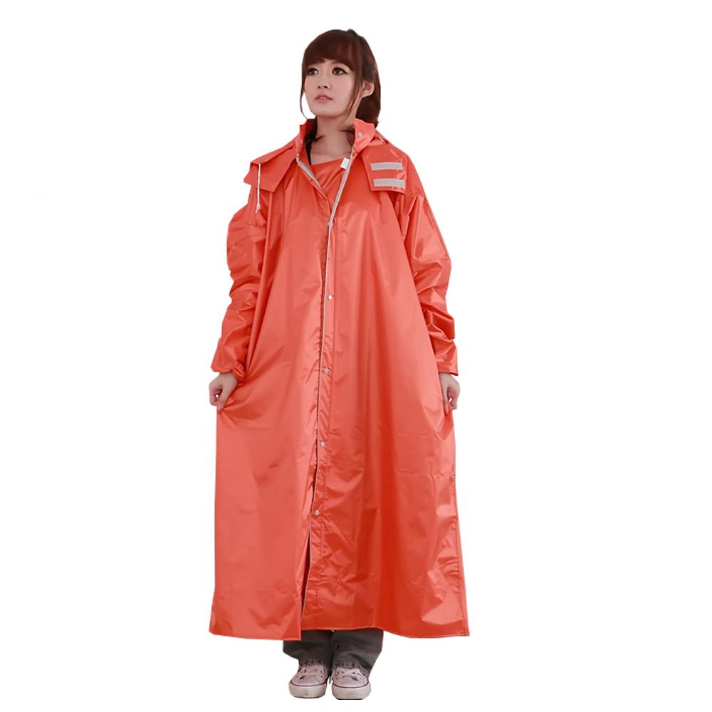 BrightDay風雨衣連身式 - 亮采前開款-快
