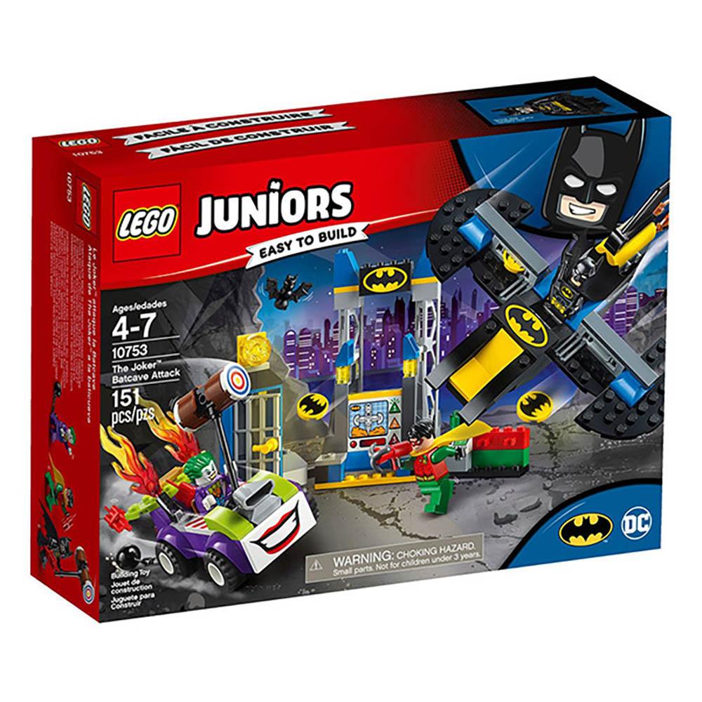 LEGO樂高 Juniors系列 10753 小丑的蝙蝠洞攻擊