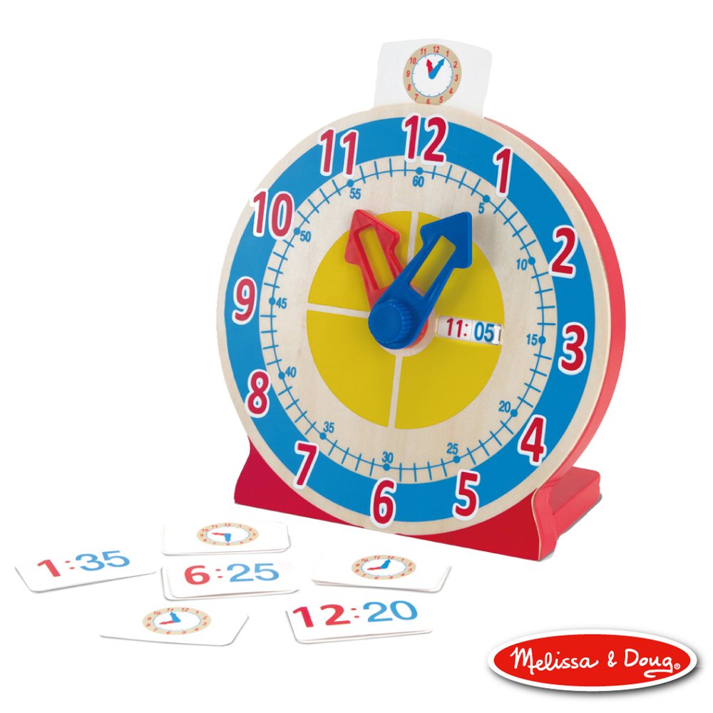 (益智任選) 學習認知時鐘 原價598