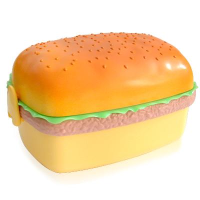 iSFun 美味漢堡 三層便當盒