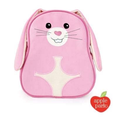 【美國 Apple Park】兒童造型背包 - 粉紅兔