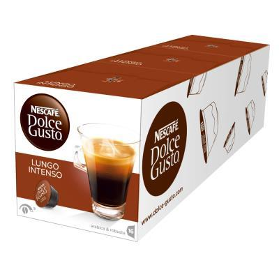 NESCAFE Dolce Gusto 美式濃黑濃烈咖啡膠囊