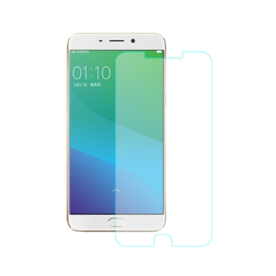 【SHOWHAN】OPPO R9S Plus 9H鋼化玻璃貼 0.3mm疏水疏油...