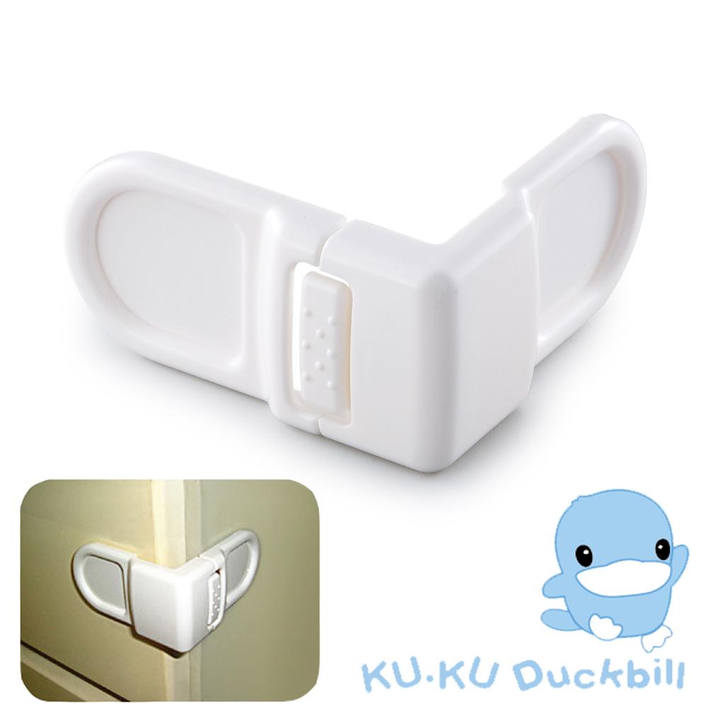 任選-KU.KU酷咕鴨 抽屜安全鎖(盒裝)
