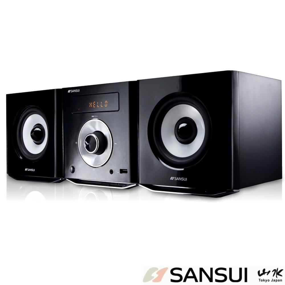 SANSUI山水 數位式DVD/DivX/USB音響組(MS-615)