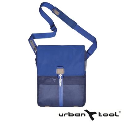URBAN TOOL reporterBag 城市精靈電腦三用包(藍/適用15 吋筆電)