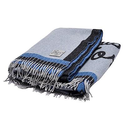 LV M73749經典League系列針織緹花喀什米爾羊絨毛氈