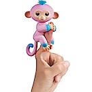 Fingerlings 互動寵物猴 - 時尚撞色版 (粉/藍)