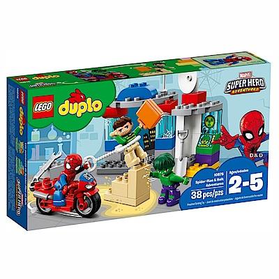 2018 樂高LEGO Duplo 幼兒系列 - LT10876 蜘蛛人 & 浩克的冒險