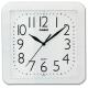 CASIO 流線大方指針方形掛鐘(IQ-02S-7)-白/24.5cm product thumbnail 1