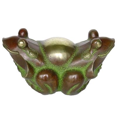 挖寶﹙蛙寶﹚.....青蛙銅雕禮品