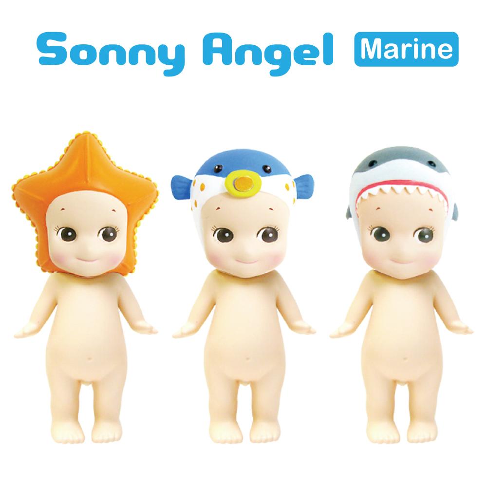 日本Sonny Angel 經典海洋系列盒玩公仔(單入)