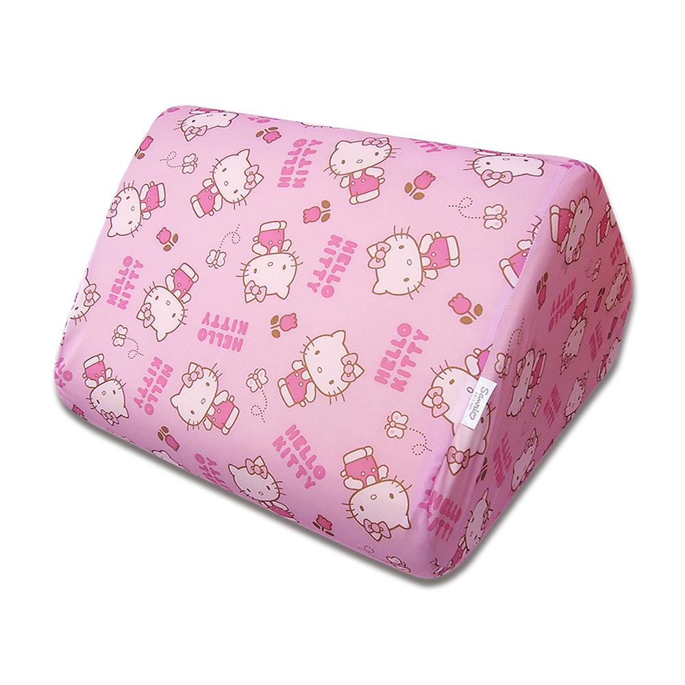 HELLO KITTY 小花日記系列-記憶三角萬用枕