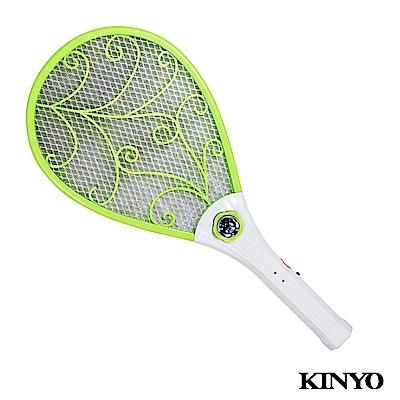 KINYO外接式充電小黑蚊電蚊拍(CM-2230)
