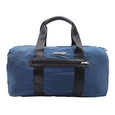 COACH 輕巧尼龍波士頓旅行袋(可收納)(藍)