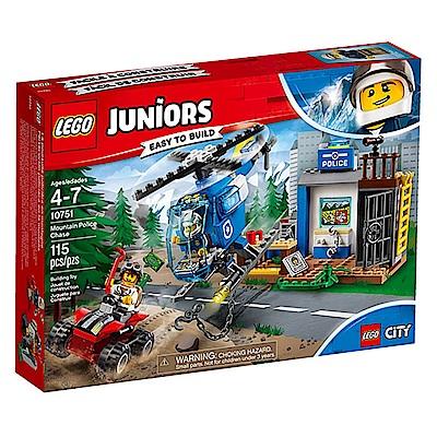 LEGO樂高 Juniors系列 10751 警察環山大追逐