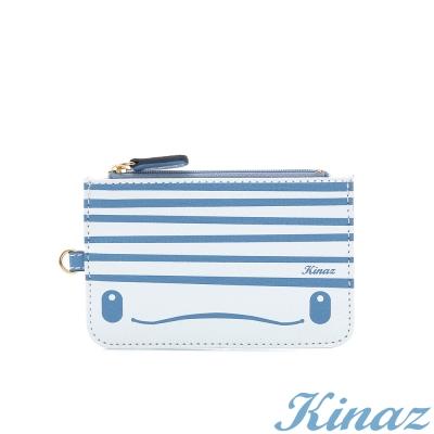 KINAZ 小白鯨零錢包-海洋系列