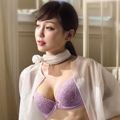 華歌爾-Shape up約定胸罩系列A-C罩杯胸罩(琉璃紫)