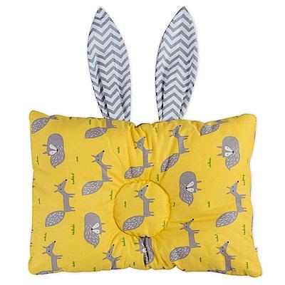 Baby unicorn 黃灰狐狸立體塑形嬰兒頭型定型枕