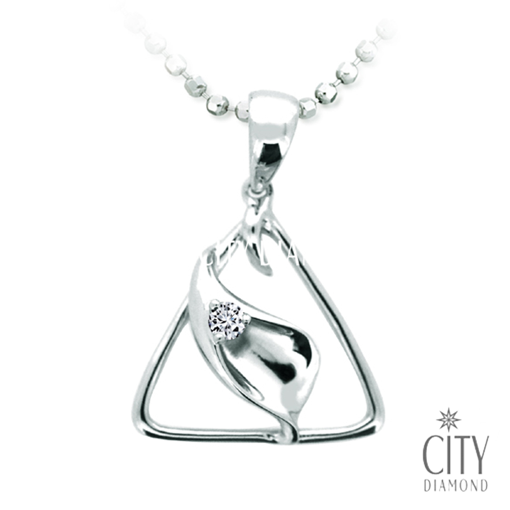 City Diamond Petite 鑽石墜子-DP00247