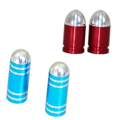 OMAX 極簡時尚氣嘴蓋-4入