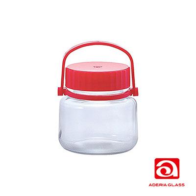 日本ADERIA 梅酒醃漬玻璃罐-1L