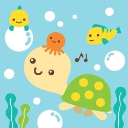 LOVIN 超萌韓版數字油畫 可愛烏龜(8) 1幅