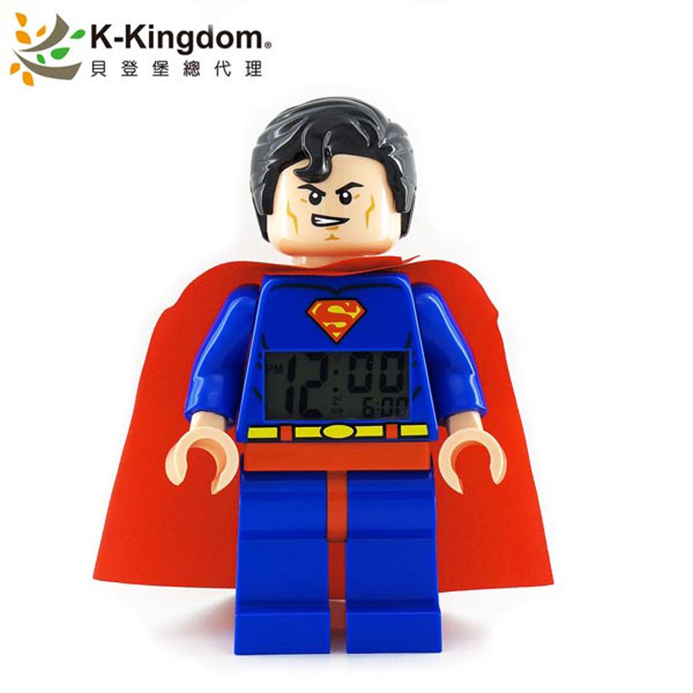 LEGO 樂高鬧鐘  超人 9005701