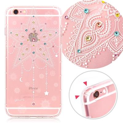 YOURS APPLE iPhone 6s Plus 奧地利彩鑽防摔手機殼-海星