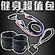 FunSport 健身超值包-全方位肌力教練彈力繩(3條活動式)+腳踝套*2+門扣*1 product thumbnail 2
