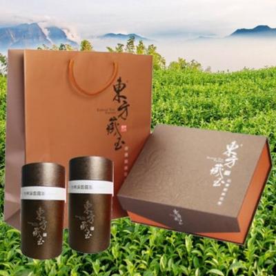 東方藏玉茶葉禮盒(凍頂烏龍茶+杉林溪雲霧茶)