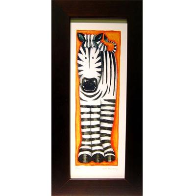 開運陶源可愛動物系列之斑馬小幅