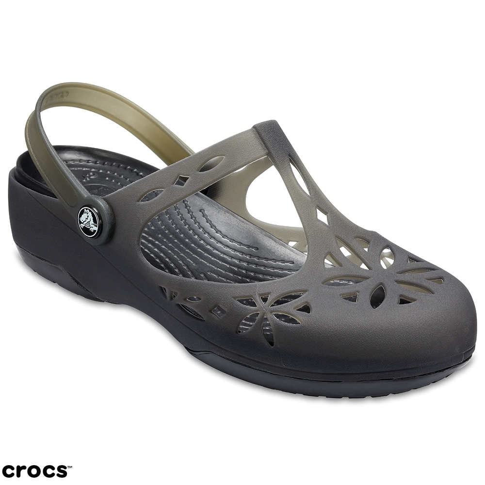 Crocs 卡駱馳 (女鞋) 伊莎貝拉克駱格 204939-001