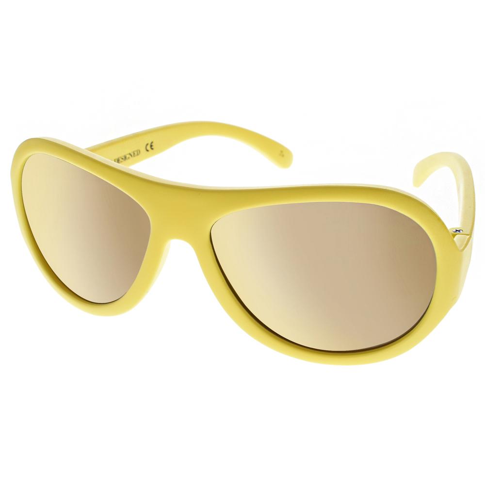 SHADEZ兒童太陽眼鏡 無毒可彎曲/黃-黃水銀#SH15SHZ7 C36
