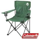 Coleman 渡假休閒椅/休閒摺椅 26735_圓點綠