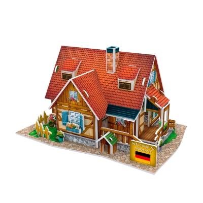世界之窗 3D立體拼圖 德國-田園小屋 3D World Style