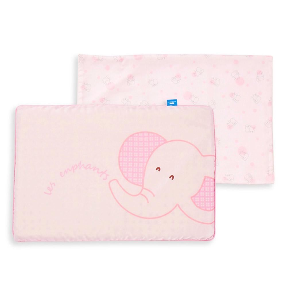【麗嬰房】les enphants 寶貝天絲乳膠平枕 (共2色)