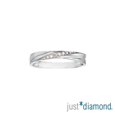 Just Diamond完美情緣 男女對戒-女戒